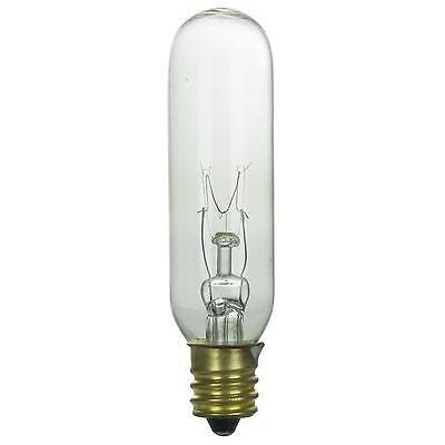 Sunlite Incandescent 25W T8 Tubular 180 Lumens Double Contact Bayonet Clear Bulb