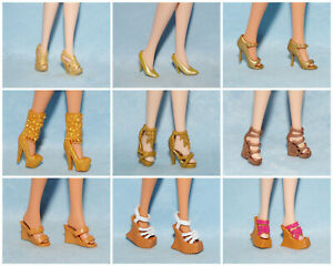 You Choose Assorted Lot of Open Toe Sandals Shoes Genuine BARBIE for Flat Feet