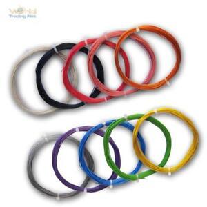 (0,27€/m) 10m flexible Litze 0,14mm² Kabel, Kupferlitze Leitung Schaltlitze LiYv