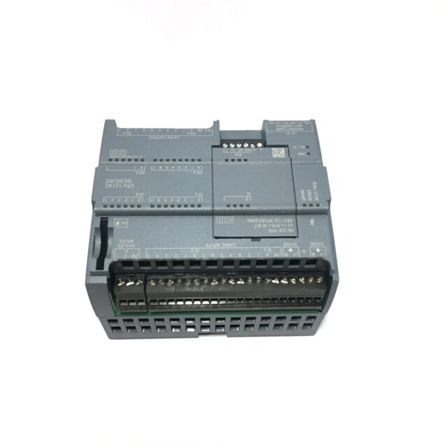 Siemens Simatic S7-1200 CPU 1214c With Sm-1221 Module