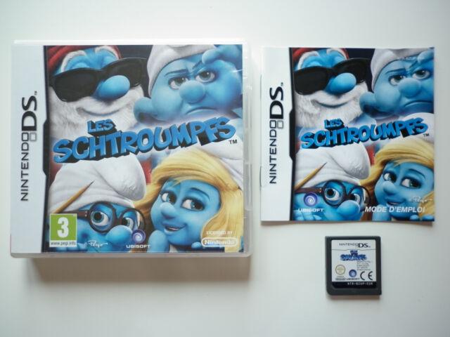 Les Schtroumpfs Jeu Vidéo Nintendo DS