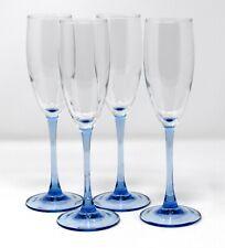 Restposten Luminarc farbige Cocktail Wein Sektgläser Aschenbecher blau schwarz