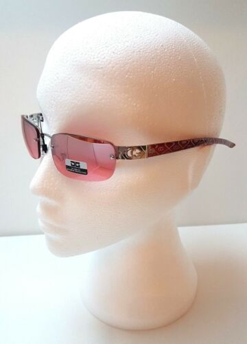 Rimless Rectangle Slim CG Eyewear Design Womens Ladies Sunglasses 100/%UV400 8023