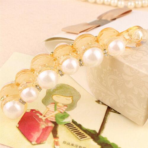Beautiful Pearls Hairpins Hair Jewelry Banana Clips Headwear Hair Accessorie ZY