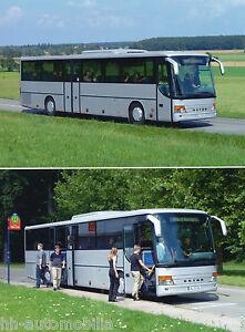 Setra S 316 UL Originales Pressefoto 2002 Überlandlinienbus Foto Bus Omnibus