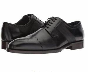 1aac7789b95 Details about Steve Madden Men's Comeback Oxford Black Leather SIZE 11 M US