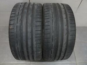 2x-Sommerreifen-Bridgestone-Potenza-S001-RSC-245-35-R18-88Y-RunFlat-DOT-xx17
