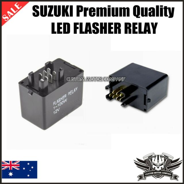 7 pin Suzuki LED Turn Signals Flasher Relay GSX-R GSXR SV Bandit Hayabusa