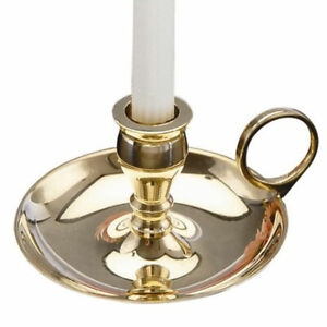 NEW Mini Brass Chime Candle Holder for 4 Inch Party/Spell Candles Antique Style