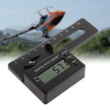 Best  Digital Pitch Gauge LCD Display Blades Degree Angle for RC Helicopter  TR
