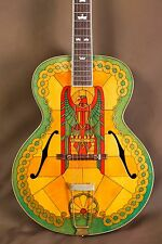 2001 Gibson L-5 Stained Glass Custom Acoustic Guitar (Super 400 L-7)