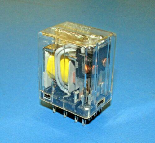 4PDT 5A QTY-2 Plug-In//Solder Lug Relay FUJITSU FRL263A240//04CV 240VAC Coil