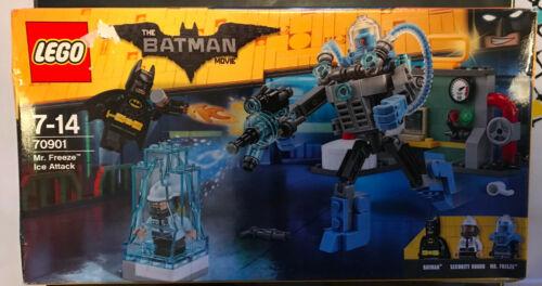 BOITE SET LEGO NEUF SCELLÉ 70901 BATMAN MR FREEZE ICE ATTACK AVEC SECURITY GUARD