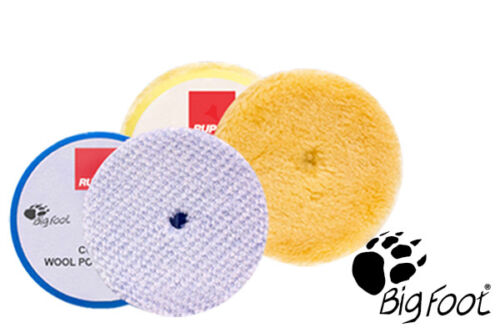 "RUPES BigFoot Wool 6.75/"" Orbital Polishing Pad Mix /& Match 4 Pack"