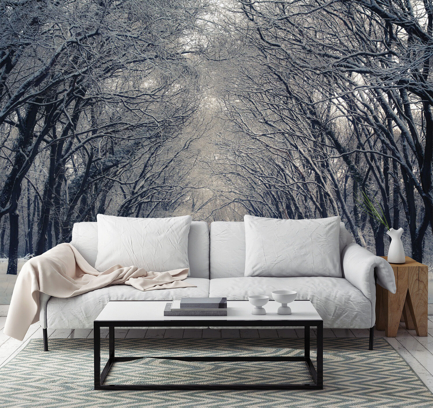 3D Forest Trunk Road 133 Wall Paper Wall Print Decal Wall Deco Indoor Wall