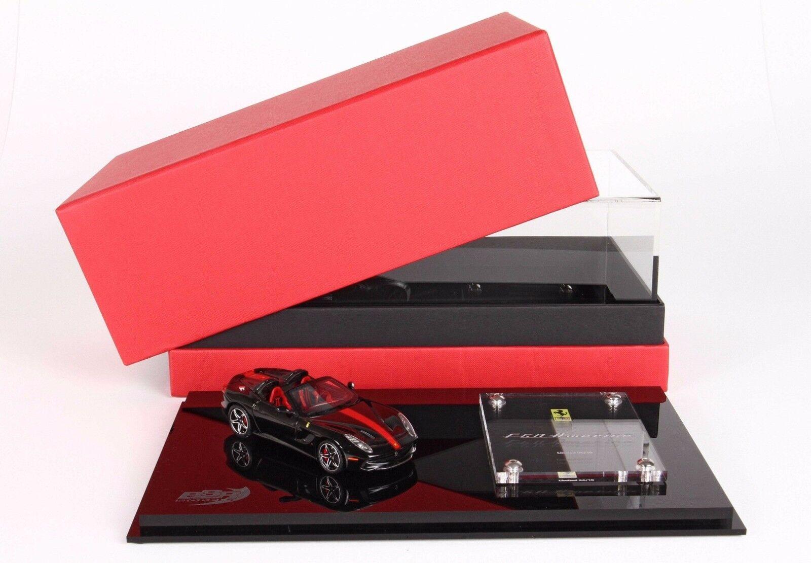 Ferrari F60 America America America negro 1 43 lim.ed. 10 pcs BBRC182HCO  BBR 7f4484