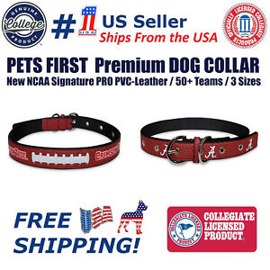 Pets First Iowa Hawkeyes Nylon Collar and Matching Nylon Leash for Pets NCAA Official Size Medium