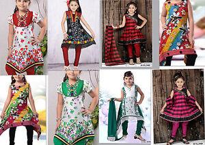 Girls-Indian-Clothes-Salwar-Kameez-Suit-Dress-Made-by-Indian-Pakistani-Designers
