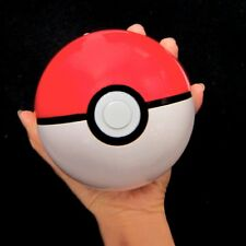 "4"" Pokemon Pokeball Poket Monster Go Catch & Return Poke Ball Game Red - White"