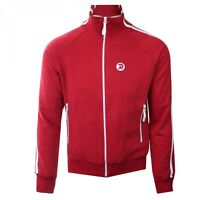 Trojan Records Full Zip Fleece Jacket Red Ska Men's Retro Jacket Sale