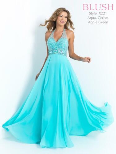 70% off Prom Dress BLUSH PROM X2211 Color: Aqua Si