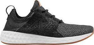 New-Balance-Cruz-Fresh-Foam-Uomo-Donna-Scarpa-Nera-Sneakers-Scarpe-Ginnastica