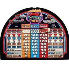 IGT S2000 Top Glass, Sizzling Sevens Times Pay (834-760-00)