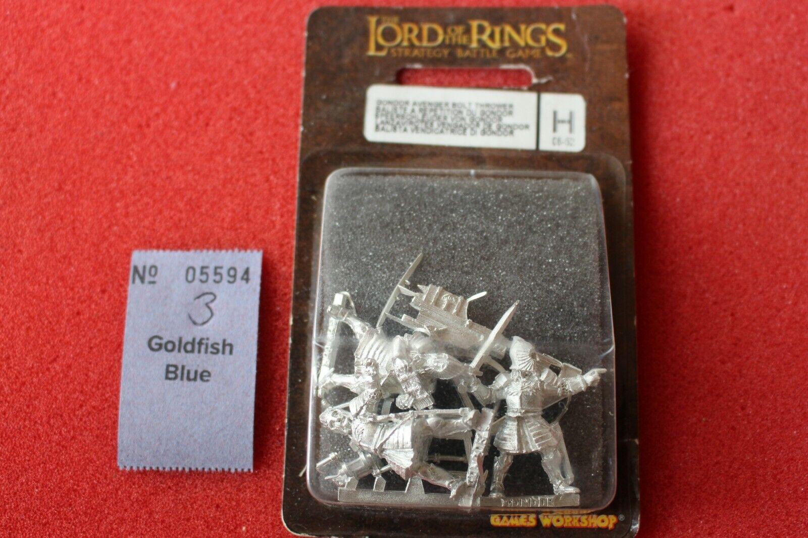 el más barato Juegos workshop señor señor señor de los anillos gondor Avenger Perno lanzador LOTR Metal Nuevo en Caja GW B  mejor calidad mejor precio