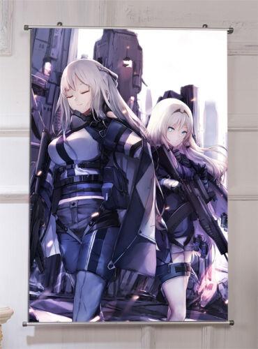 Game Girls Frontlin AK12 AN94 Room Scroll Hanging Otaku Printing Poster 60*90cm