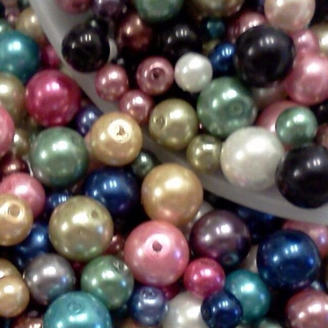 30//40//50PCS Spacer Pearl Loose Beads Jewelry Accessories Loose Beads Acrylic DIY