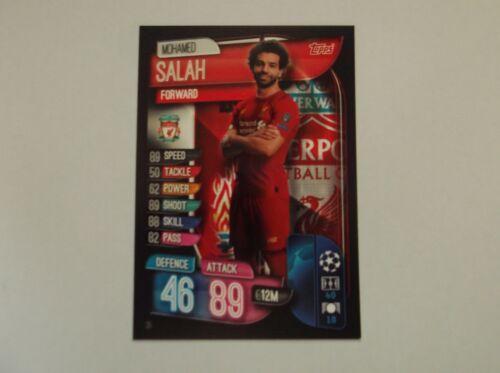 "Match Attax 19//20 /""Mohamed Salah/"" #35 Trading Card"
