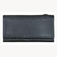 Lombardi Giovanni 20010 Women's Leather Wallet 17 Slots 1 Window Id And Zipper