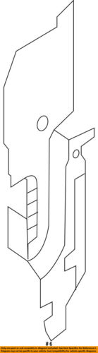 Infiniti NISSAN OEM A//C AC Condenser//Compressor//Line-Side Seal Left 921853JA0A