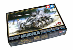 Tamiya-Military-Model-1-48-German-Tank-Destroyer-Marder-III-Scale-Hobby-32560