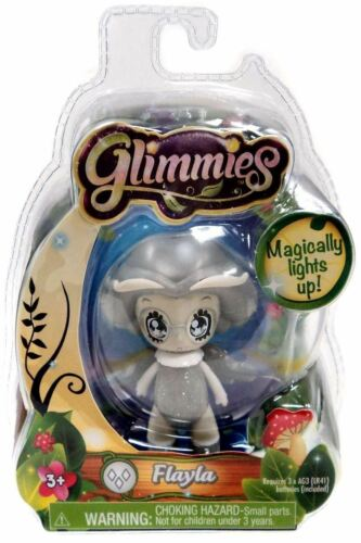 Glimmies-Un Solo Paquete de Blister-flayla Gris Luz en la oscuridad