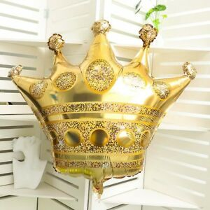 28-039-039-Gold-Crown-Foil-Helium-Large-Balloon-Happy-Birthday-Wedding-Party-Baby-Toy