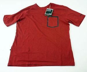 Giro Roust Men/'s Cycling Jersey Medium Short Sleeve Black Red Mountain MTB