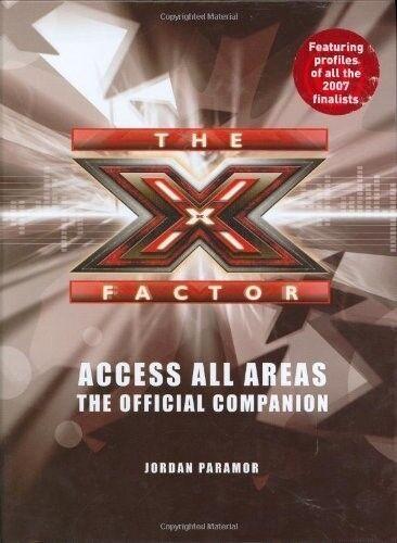 1 of 1 - Very Good, The X Factor: Access All Areas, Paramor, Jordan, Book