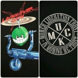 Size-XL-034-RETRO-COB-034-Black-Lawnmower-Deth-TSHIRT-Official-Band-Merch