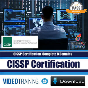 Cissp Certification 2018 Complete 8 Domains 54 Hrs Video Training Course Downloa Ebay