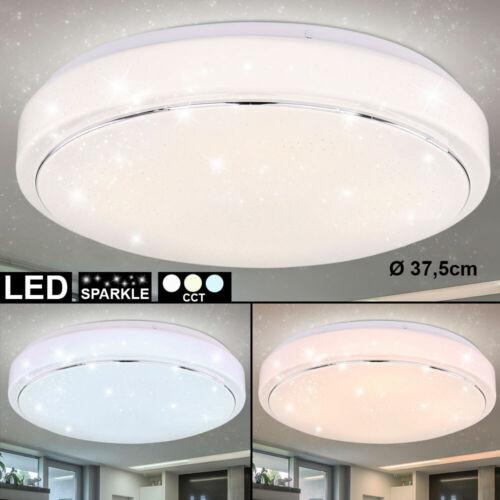 LED Decken Leuchte Sternen Effekt Tageslicht Design Lampe Schlaf Arbeits Zimmer