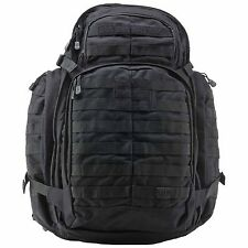 5.11 Tactical RUSH 72 Backpack Combat Military Day Rucksack - Black