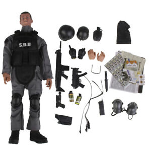 "1//6 SWAT Police Soldier military combat suit 12/"" Action Figure toys hot ❶USA❶"