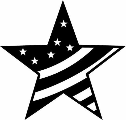 MARABU Schablone Big star with stripe