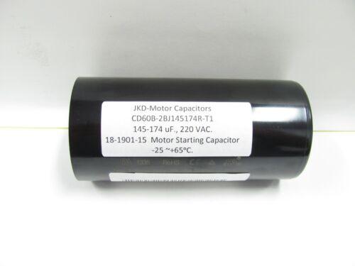 145-174 uF MFD Motor Start Capacitor 220 VAC with Resistor CD60B-2BJ145174R-T1