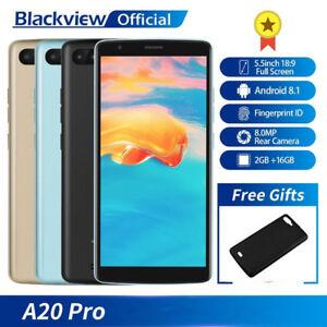Oro-Blackview-A20-Pro-NUOVO-5-5-039-039-Smartphone-HD-Lte-4G-18-9-CELLULARE-2SIM-16GB