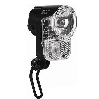 30 Lux Fahrrad Lampe LED Scheinwerfer AXA Pico Seitendynamo