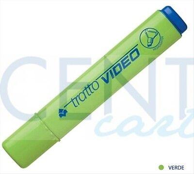 Candido Evidenziatore Tratto Video Verde Cf.2 Pz. Ampia Fornitura E Consegna Rapida