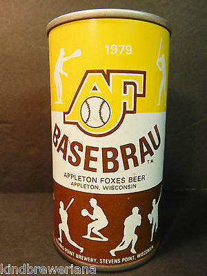 WISCONSIN 1979 issue Grade 1+ Baseball BASEBRAU BEER 1979 RW/&B ss CAN Sports