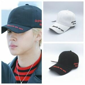 KPOP-BTS-JIMIN-Baseball-Cap-Bangtan-Boys-Letter-Hat-STREETS-ARE-OURS-Embroidery